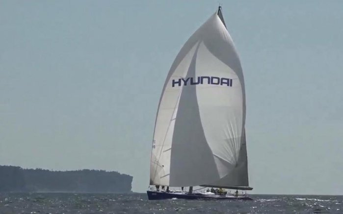 2001 Ron Holland 100' Hyundai SWE 11000
