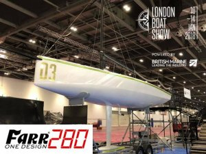 Farr 280 at the London Boat Show